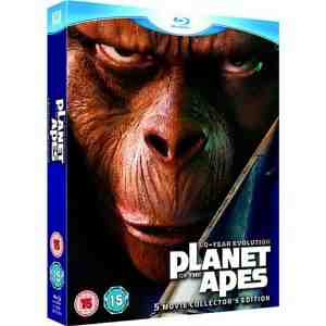 Planet Apes 5 Movie Collectors Blu ray