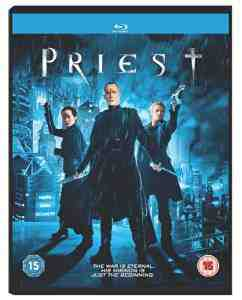 Priest Blu ray Region Free Bettany