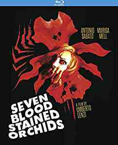 Seven Blood Stained Orchids aka Sette orchidee macchiate di rosso Blu-ray