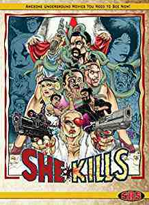 She Kills Limited Edition Bluray DVD