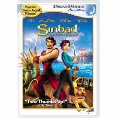 Sinbad: Legend of the Seven Seas DVD