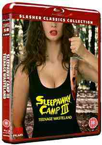 Sleepaway Camp Teenage Wasteland Blu ray