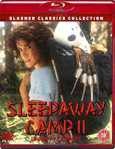 Sleepaway Camp Unhappy Campers Blu ray