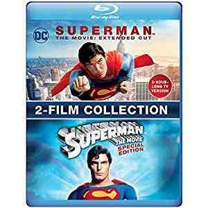 Superman The Movie: Extended Cut & 2-Film Collection Blu-ray