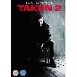 Taken 2 UK DVD Liam Neeson