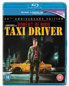 Taxi Driver: Anniversary Edition Blu-ray