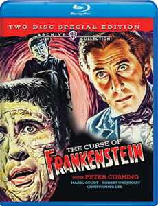 The Curse of Frankenstein Blu-ray
