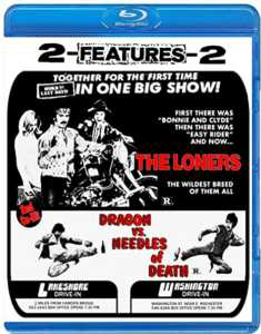 The Loners + Dragon Vs Needles Of Death Blu-ray