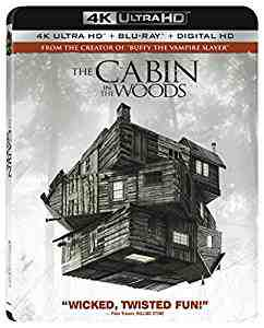 The Cabin in the Woods 4K Ultra HD 4k Blu-ray