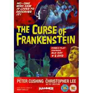 The Curse Frankenstein Blu ray DVD
