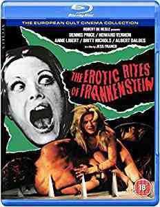 The Erotic Rites of Frankenstein DVDBlu-rayCombo