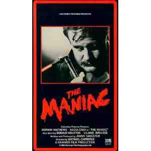 The Maniac VHS Kerwin Mathews