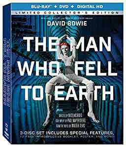 The Man Who Fell To Earth DVDBlu-rayCombo