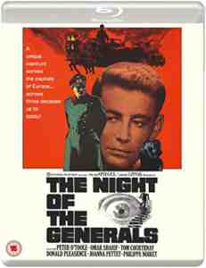 The Night Of The Generals Blu-ray