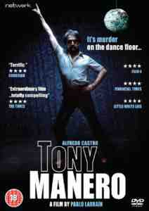 Tony Manero DVD Alfredo Castro October