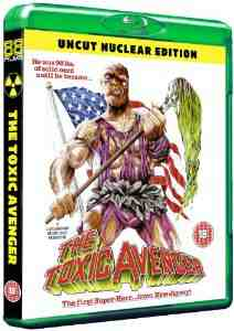 Toxic Avenger Uncut Nuclear Blu ray