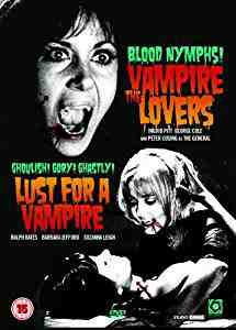 Vampire Lovers/Lust For A Vampire DVD