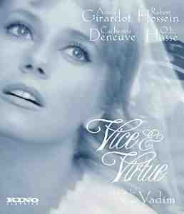 Vice Virtue Blu ray Catherine Deneuve