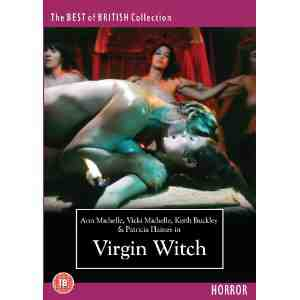 Virgin Witch DVD Ann Michelle