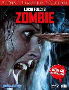 Zombie Cover B ''Splinter'' Blu-ray