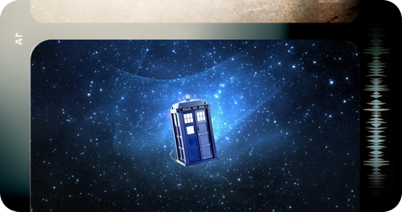 Dr Who banner