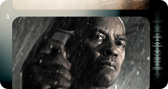 The Equalizer banner
