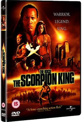 Scorpion King DVD cut