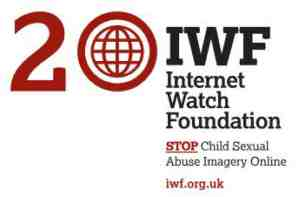 20th anniversary internet watch foundation logo