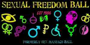 sexual freedom ball 2017 logo