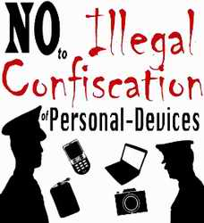 No Illegal Confscation badge
