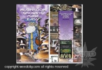 Mushroom Growing Made Easy DVD cover