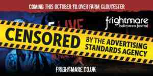 censored frightmare poster