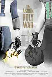 Poster Akron Holy War 2017 Anthony Fanelli