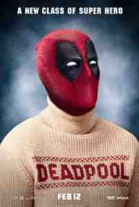 Poster Deadpool 2016 Tim Miller