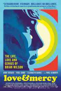 Poster Love and Mercy 2014 Bill Pohlad