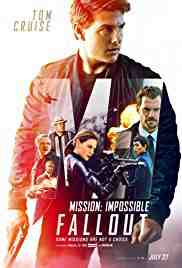 Poster Mission Impossible Fallout 2018 Christopher Mcquarrie