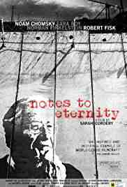 Poster Notes To Eternity 2016 Sarah Cordery