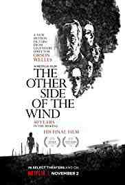 Poster Other Side of the Wind 2018 Orson Welles