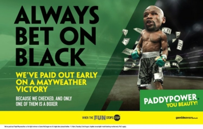paddy power bet on black
