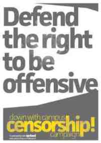 right to be offensive