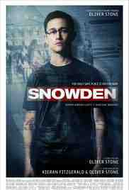 Poster Snowden 2016 Oliver Stone