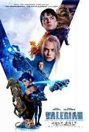 Poster Valerian and the City of a Thous 2017 Luc Besson